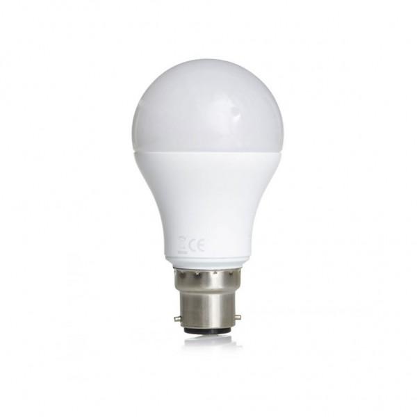 ΛΑΜΠΑ LED ΚΟΙΝΗ 10W B22 4000K 220-240V