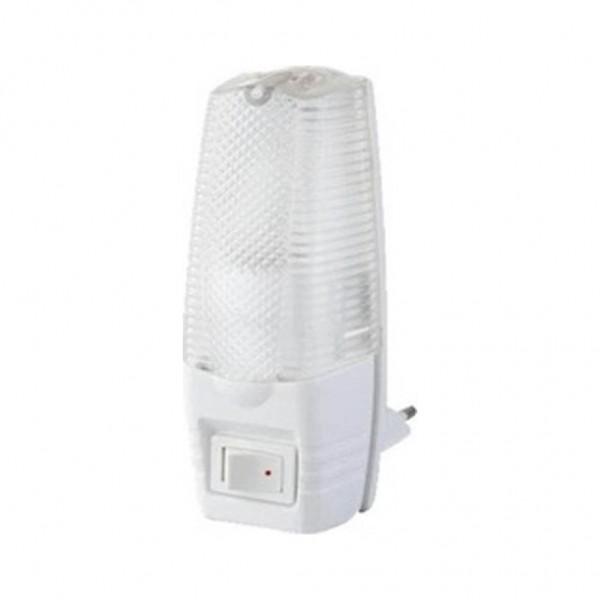 Φωτάκι Νυκτός με Διακόπτη Λευκό 5W Eurolamp