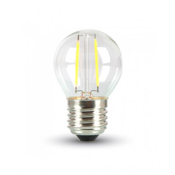 ΛΑΜΠΑ LED ΣΦΑΙΡΙΚΗ FILAMENT 4W E27 2700K 220-240V