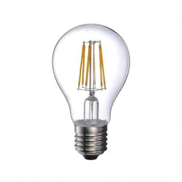 Eurolamp Λάμπα Led κοινή Filament  7W Ε27 Dimmable