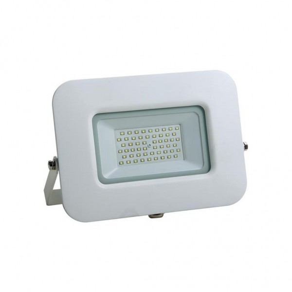 ΠΡΟΒΟΛΕΑΣ LED SMD ΒΑΣΗ 360° PLUS 50W ΛΕΥΚΟΣ IP65 6500K PLUS