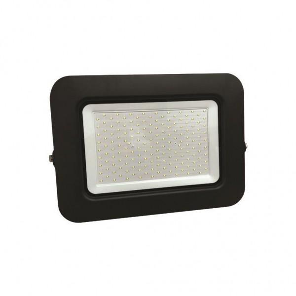 ΠΡΟΒΟΛΕΑΣ LED SMD ΒΑΣΗ 360° PLUS 150W ΜΑΥΡΟΣ IP65 6500K PLUS