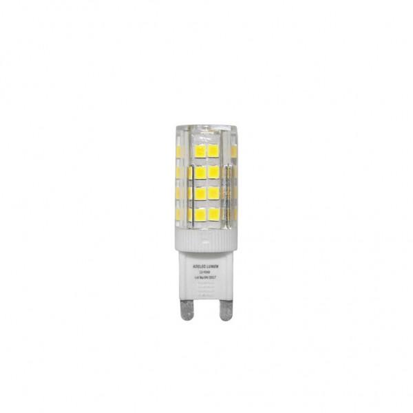 ΛΑΜΠΑ LED 4W G9 400lm 230VAC 360° 4000k