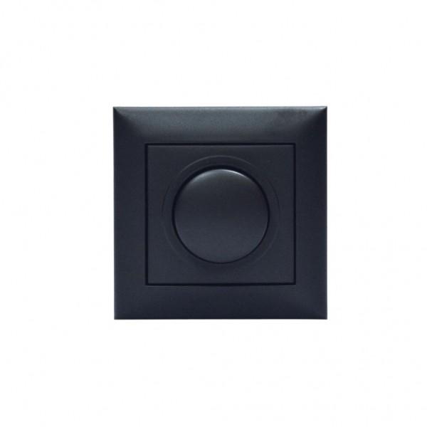 Dimmer Led 200w Xωνευτό Μαύρο