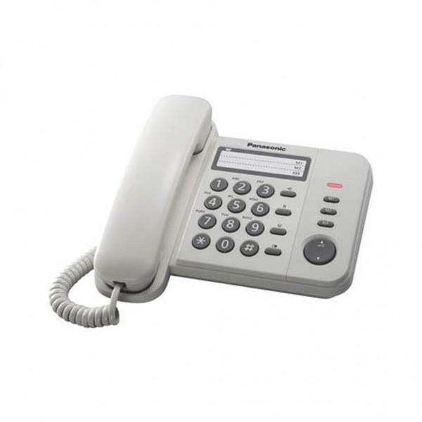 Σταθερό Ψηφιακό Τηλέφωνο Panasonic KX-TS560EX2W Λευκό