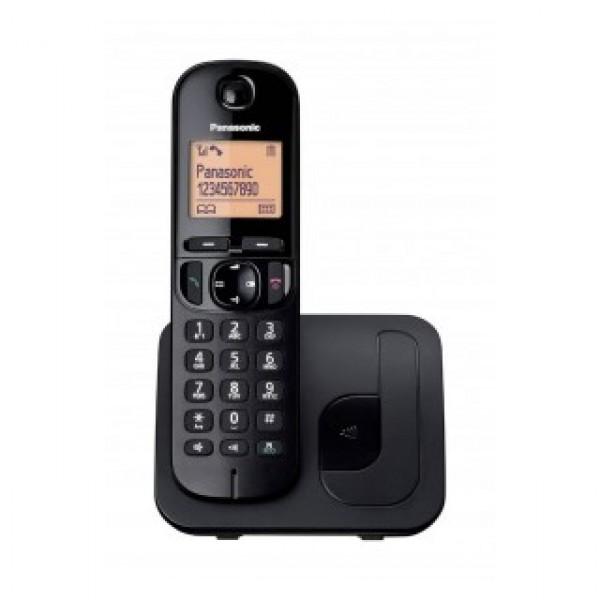Ασύρματο Ψηφιακό Τηλέφωνο Panasonic KX-TGC210GRC Μαύρο με Ανοιχτή Ακρόαση, Φραγή ενοχλητικών Κλήσεων και Λειτουργία Eco
