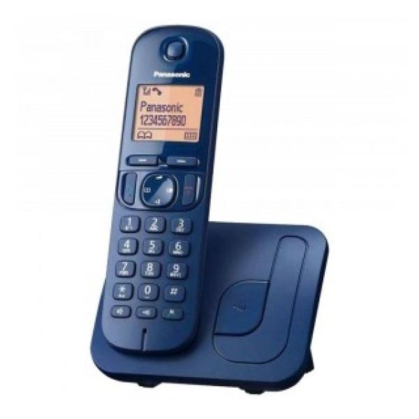Ασύρματο Ψηφιακό Τηλέφωνο Panasonic KX-TGC210GRC Μπλε με Ανοιχτή Ακρόαση, Φραγή ενοχλητικών Κλήσεων και Λειτουργία Eco