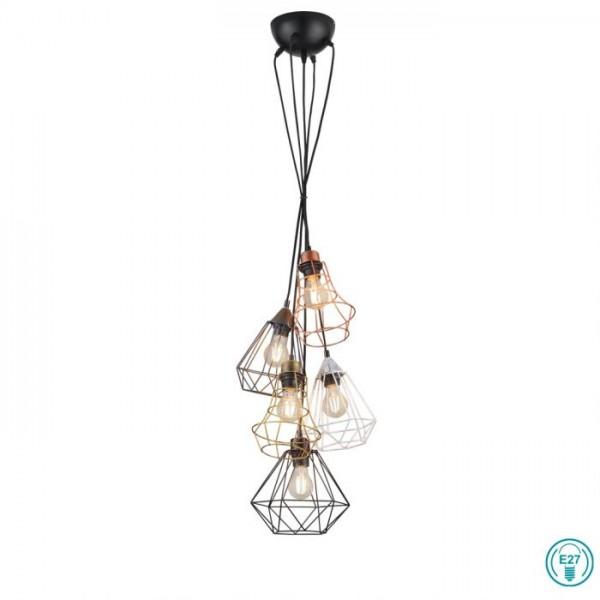 Φωτιστικό Κρεμαστό RL Lighting Meike R30725017 Πολύχρωμο