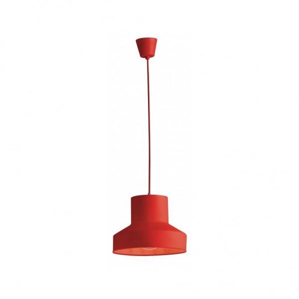 I-LENNON-S1 Φωτιστικό κρεμαστό κόκκινο Lennon