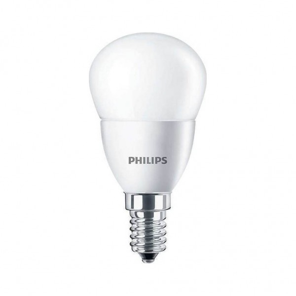 Philips Λάμπα Led 220V Σφαιρική Ε14 7W 2700K 806LM