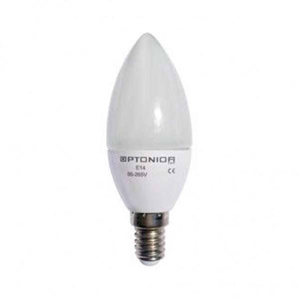 Λάμπα Led Κερί E14 4W Θερμό λευκό